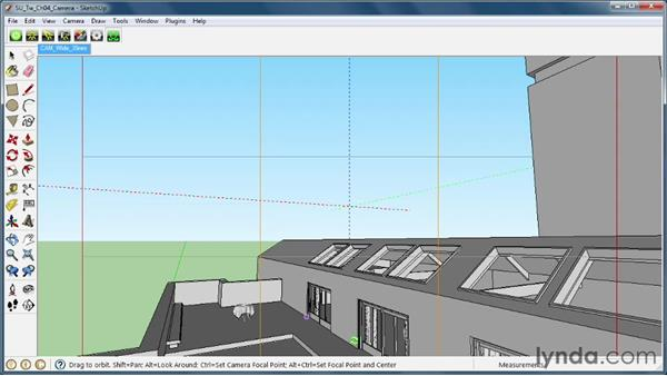 Positioning your scene view: SketchUp Rendering Using Twilight