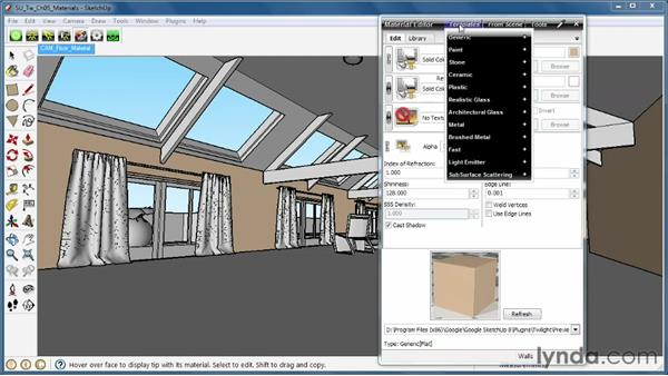 Introduction to Twilight materials: SketchUp Rendering Using Twilight