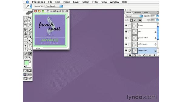 copying color as html: Learning Photoshop CS for the Web