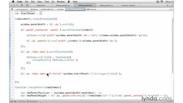 Setting an autostart on page load: Create a Sliding Tabbed Panel with jQuery