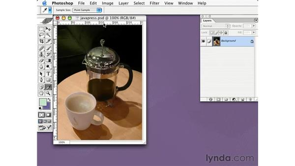 saving for web with JPEG: Learning Photoshop CS for the Web