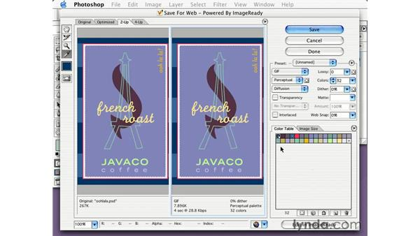 locking colors: Learning Photoshop CS for the Web