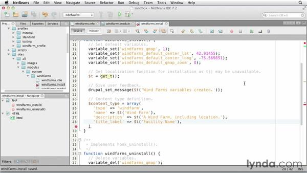 Creating a custom content type manually: Drupal 7 Custom Module Development