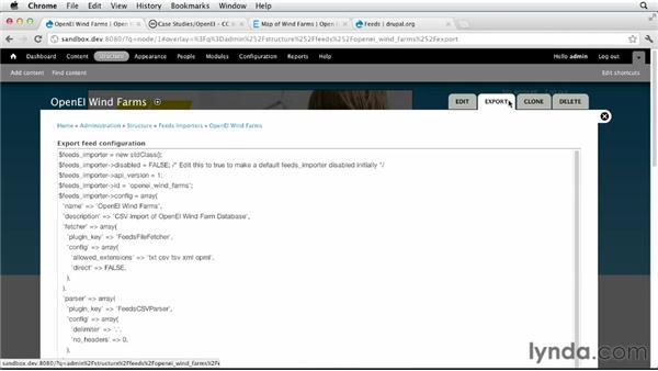 Importing content using feeds: Drupal 7 Custom Module Development