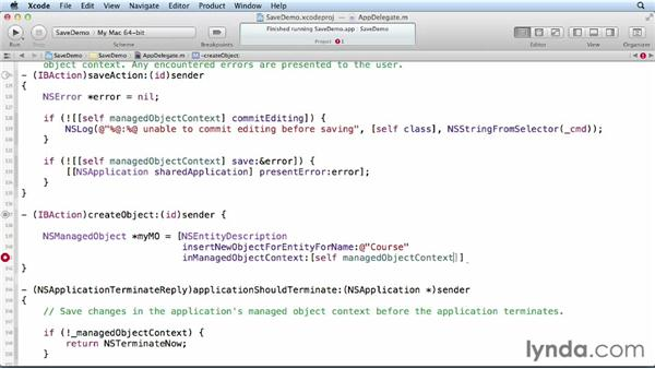 Creating managed objects: Core Data for iOS and OS X