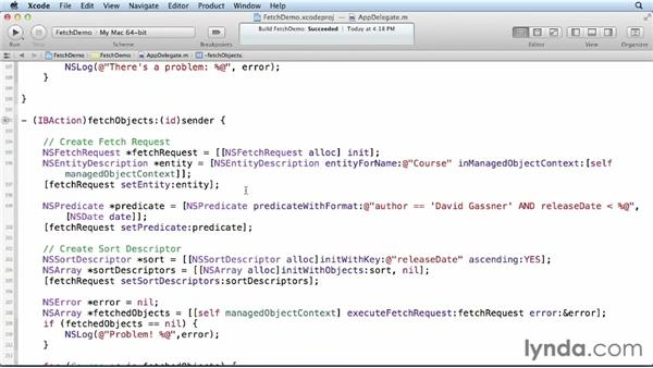 Creating fetch request templates: Core Data for iOS and OS X
