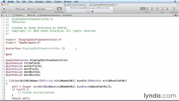 Switching modes in a view controller: Core Data for iOS and OS X