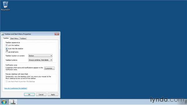 Configuring a recording account: Camtasia Studio 8 Essential Training