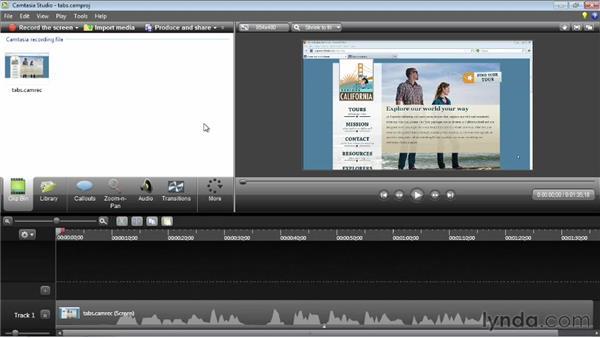 Handling mistakes: Camtasia Studio 8 Essential Training
