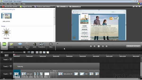 Backing up media and restoring project files: Camtasia Studio 8 Essential Training