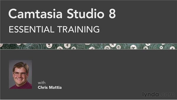 Goodbye: Camtasia Studio 8 Essential Training