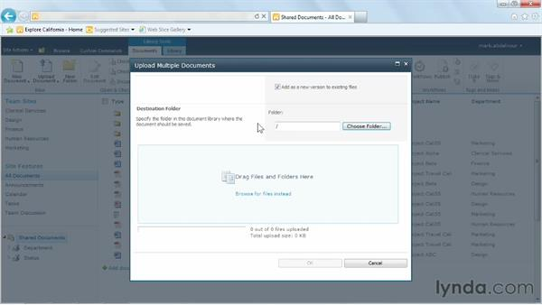Welcome: Managing Documents with SharePoint 2010