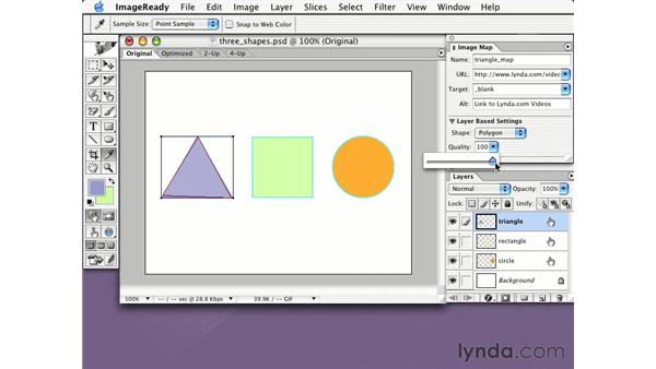 image map from layers: Learning Photoshop CS for the Web