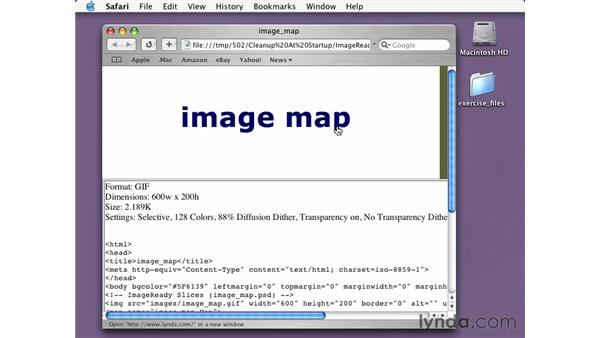 image maps for type: Learning Photoshop CS for the Web