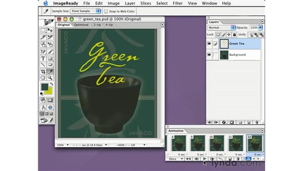 tweening: Learning Photoshop CS for the Web