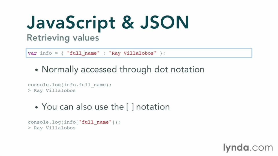 JavaScript and JSON: Integration Techniques
