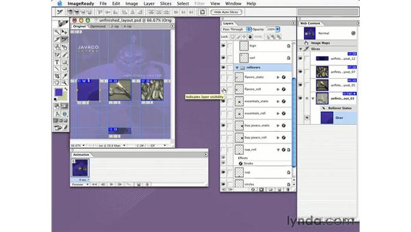 creating a web interface: Learning Photoshop CS for the Web