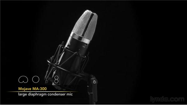 Explaining microphone controls: Audio Recording Techniques