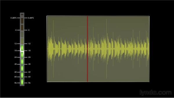 Setting the record level: Audio Recording Techniques