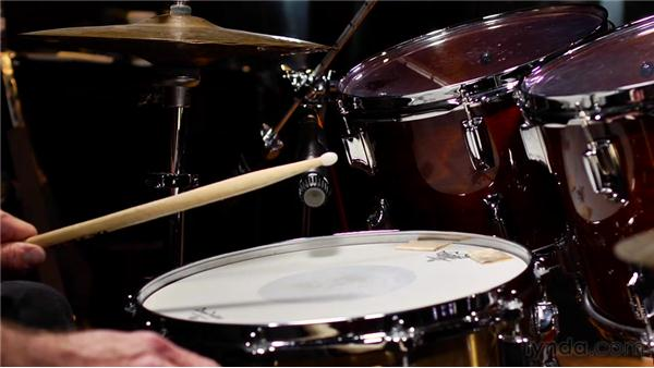 Miking the snare drum: Technique one: Audio Recording Techniques