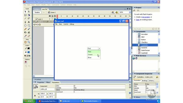 choosing a workspace: windows: Dreamweaver MX 2004 Essential Training