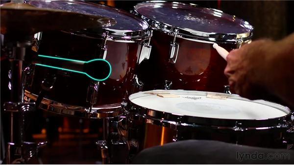 Using the three-mic drum recording technique: Audio Recording Techniques