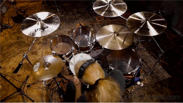 Using the four-mic drum recording technique: Audio Recording Techniques