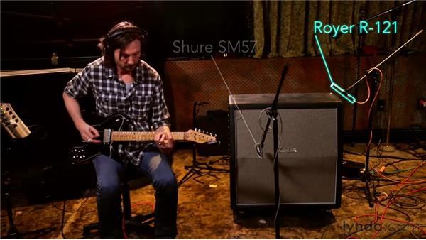 Using the Marshall cabinet miking trick: Audio Recording Techniques