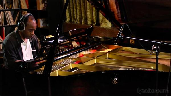 Recording the piano part: Audio Recording Techniques