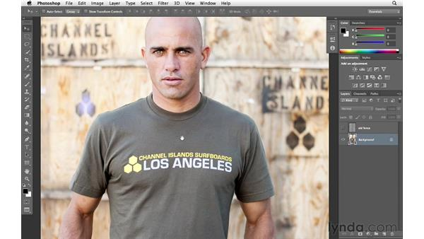 Welcome: Enhancing an Environmental Portrait with Photoshop