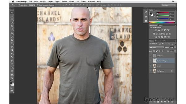 Burning and dodging to add emphasis: Enhancing an Environmental Portrait with Photoshop