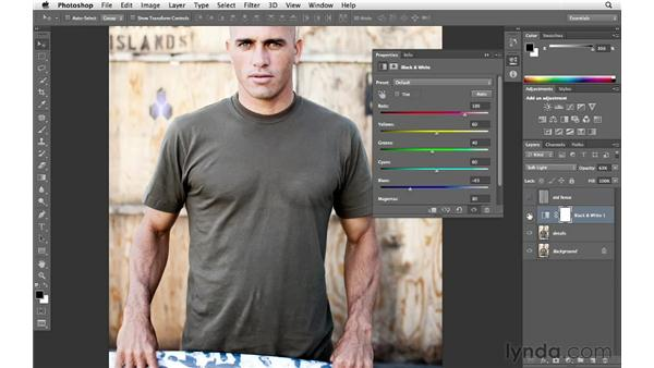 Experimenting with color: Enhancing an Environmental Portrait with Photoshop