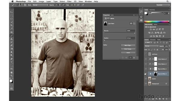 Darkening the background: Enhancing an Environmental Portrait with Photoshop