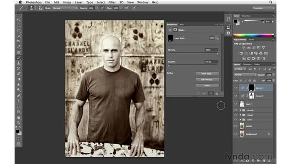 Making final tonal adjustments: Enhancing an Environmental Portrait with Photoshop