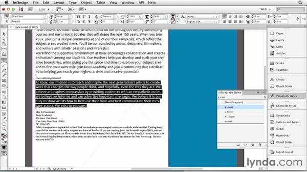 Welcome: InDesign for Web Design