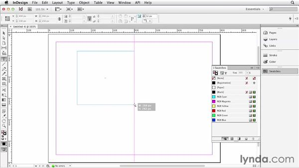 Creating a document for the web: InDesign for Web Design