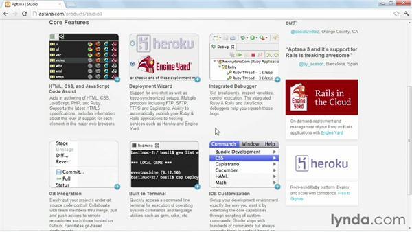 Installing Aptana Studio on Windows and Mac OS X: Up and Running with Aptana Studio 3
