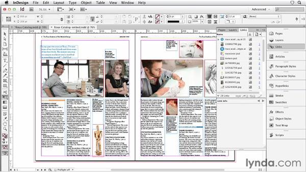 061 Embedding images: InDesign Secrets