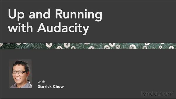 Goodbye: Up and Running with Audacity