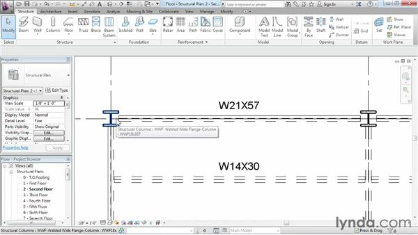 Creating and modifying floors: Revit Structure 2013 Essential Training