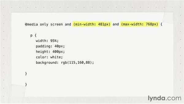 Creating breakpoints with media queries: Responsive Design Fundamentals