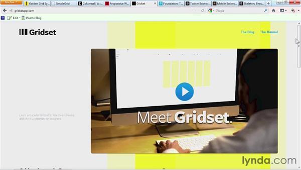 Exploring fluid grid frameworks: Responsive Design Fundamentals