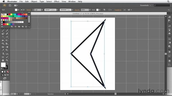 Building and placing graphics from Illustrator: Designing a Portfolio Website with Muse