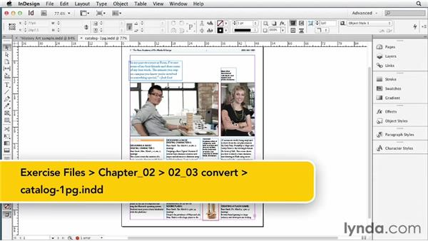 Understanding what can and can't be converted from INDD to EPUB: InDesign CS6 to EPUB, Kindle, and iPad