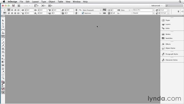 Setting up an EPUB workspace: InDesign CS6 to EPUB, Kindle, and iPad