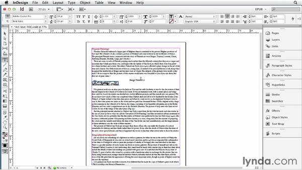 Creating chapter breaks based on a paragraph style: InDesign CS6 to EPUB, Kindle, and iPad
