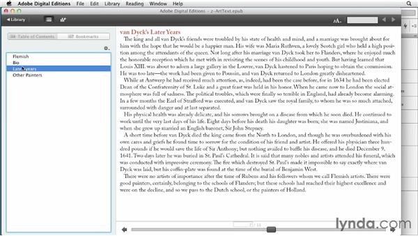 Creating a navigation TOC with an InDesign book: InDesign CS6 to EPUB, Kindle, and iPad