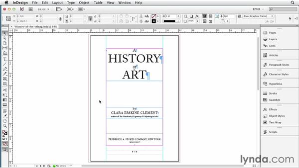 Maintaining text frame spacing: InDesign CS6 to EPUB, Kindle, and iPad