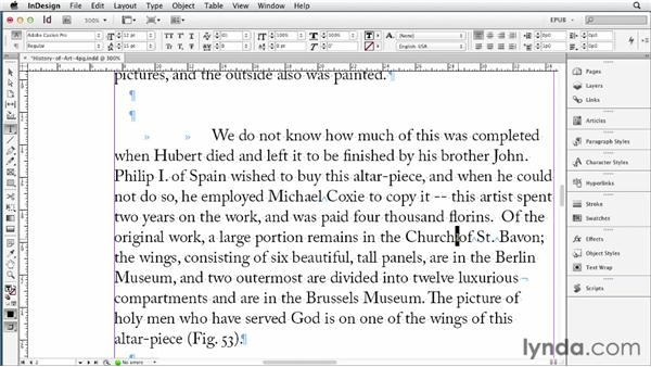 Cleaning up text with Find/Change and the FindChangeByList script: InDesign CS6 to EPUB, Kindle, and iPad