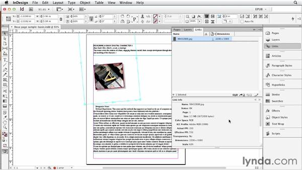 Specifying image resolution and appearance: InDesign CS6 to EPUB, Kindle, and iPad
